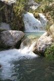 Waterfall Neelawahn stream and pools Stock Photo