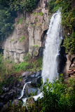 Waterfall in Nepi in Italy. Royalty Free Stock Photography