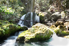 Waterfall in New Zealand Stock Photo