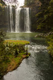 Waterfall new zealand Stock Photo