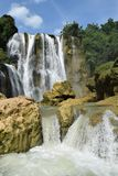 Waterfall Nglirip stock image