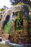 Waterfall in Nice. A beautiful cascade only two passes away from the center of Nice on the French Riviera royalty free stock image