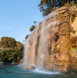 Waterfall in Nice, France stock photos