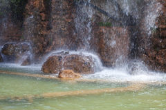 Waterfall, Nice, France. Stock Photos