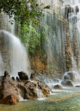 Waterfall in Nice. royalty free stock photography