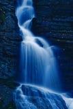 Waterfall in the night Stock Image