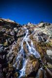 Waterfall at night Royalty Free Stock Photo