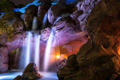 Waterfall night shot Royalty Free Stock Image