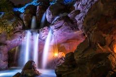 Waterfall night shot royalty free stock image
