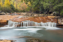 Waterfall on the North Branch of the Blackwater River Stock Photos