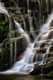 Waterfall in North Carolina mountains Royalty Free Stock Photos