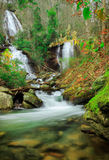 Waterfall. In north Georgia - Anna Ruby Falls Stock Photos