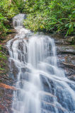 Waterfall in the North Georgia Mountains Royalty Free Stock Photos