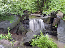 Waterfall in the north woods Stock Images