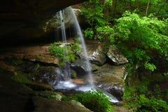 Waterfall in northern Alabama Stock Photos
