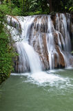 waterfall in northern Thailand. Royalty Free Stock Image