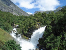 Waterfall Norway Stock Images
