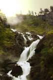 Waterfall in Norway Royalty Free Stock Photos