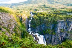 Waterfall at Norway Royalty Free Stock Images