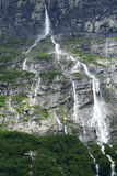 Waterfall in Norway. View of the waterfall in Norway Royalty Free Stock Photo