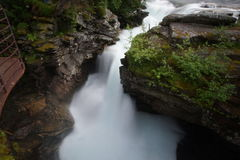 Waterfall in Norway. View of a waterfall in Norway Royalty Free Stock Photography