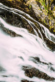 Waterfall in Norwegian mountains. Norway, Nature Royalty Free Stock Photography