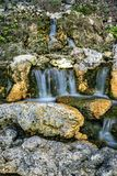 Waterfall on Nusa Penida Stock Images
