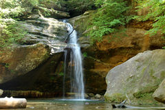 Waterfall in Ohio USA Royalty Free Stock Photography