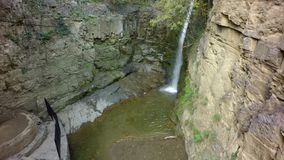 Waterfall in Old Town of Tbilisi, Georgia. Waterfall in Old Town of Tbilisi, Georgia royalty free stock photo
