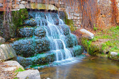 Waterfall in Olexandria Park Royalty Free Stock Images