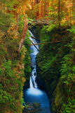 Waterfall in the Olympic National Park. Sol Duc Falls in the Olympic National Park, Washington Royalty Free Stock Photos