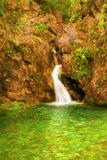 Waterfall at Olympus mountain, Greece Stock Images