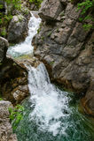 Waterfall in Olympus Mountains, Greece Royalty Free Stock Photo