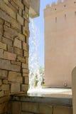 Waterfall at Oman pavillon, EXPO 2015 Milan Stock Images