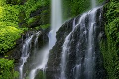 Waterfall On Bali Royalty Free Stock Images