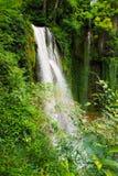 Waterfall. One of the waterfalls of Monasterio de Piedra, Zaragoza, Spain Royalty Free Stock Images