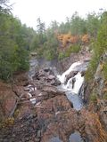 Waterfall in Ontario, Canada in North America. Waterfall in Ontario, Canada in North America royalty free stock photo