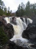 Waterfall in Ontario, Canada in North America. Waterfall in Ontario, Canada in North America royalty free stock photography