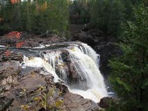Waterfall in Ontario, Canada in North America. Waterfall in Ontario, Canada in North America royalty free stock photos