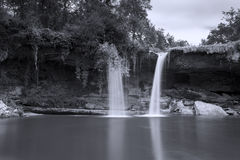 Waterfall of Orbaneja del Castillo, Burgos Royalty Free Stock Photography