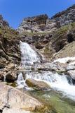 Waterfall in Ordesa National Park Royalty Free Stock Photo