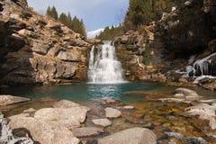 Waterfall in Ordesa Royalty Free Stock Photos