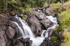 Waterfall in Ordino Valley, Andorra, Europe Stock Photos