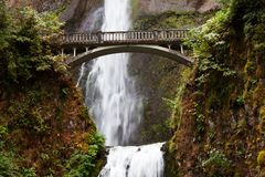 Waterfall in Oregon Royalty Free Stock Photos