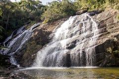 Waterfall of the ounce - são paulo royalty free stock image