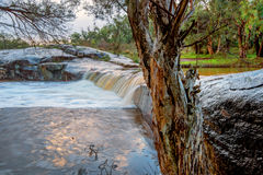 Waterfall in Outback Stock Image