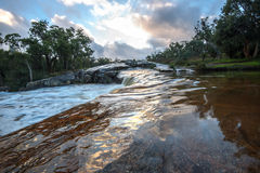 Waterfall in Outback Royalty Free Stock Photography