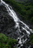 Waterfall outside Valdez, Alaska Royalty Free Stock Photos