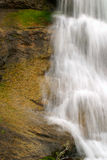 Waterfall Over Granite Stock Photography
