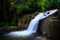 Waterfall. Pa-La-U Waterfalls in Thailand Royalty Free Stock Photo